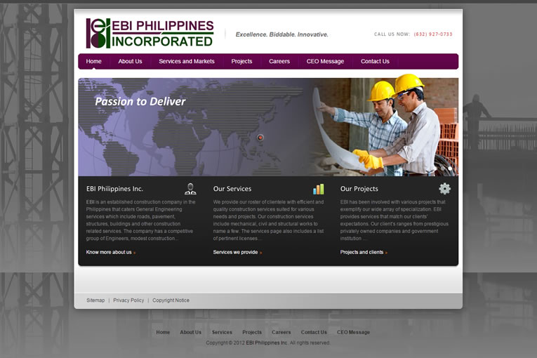 Web Design for Contractors – Web Design Philippines